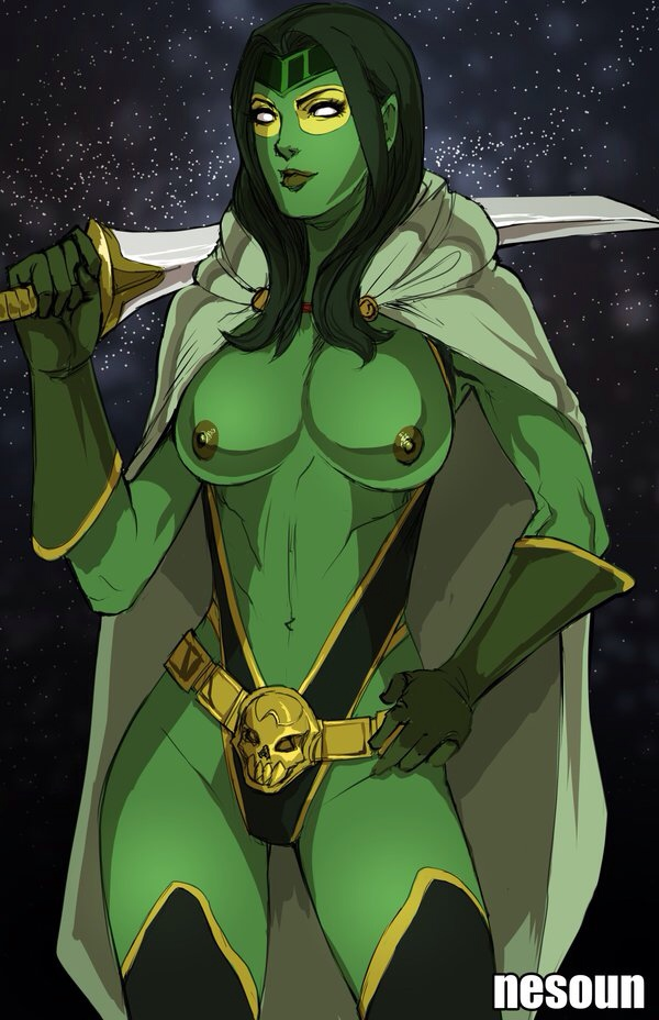 the guardians of galaxy gamora hentai Supreme kai of time thicc