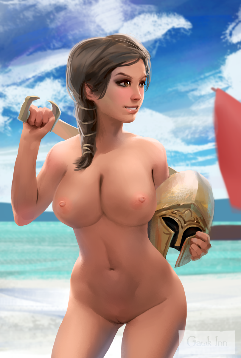 naked creed assassin's odyssey kassandra Ladies versus butlers special 1