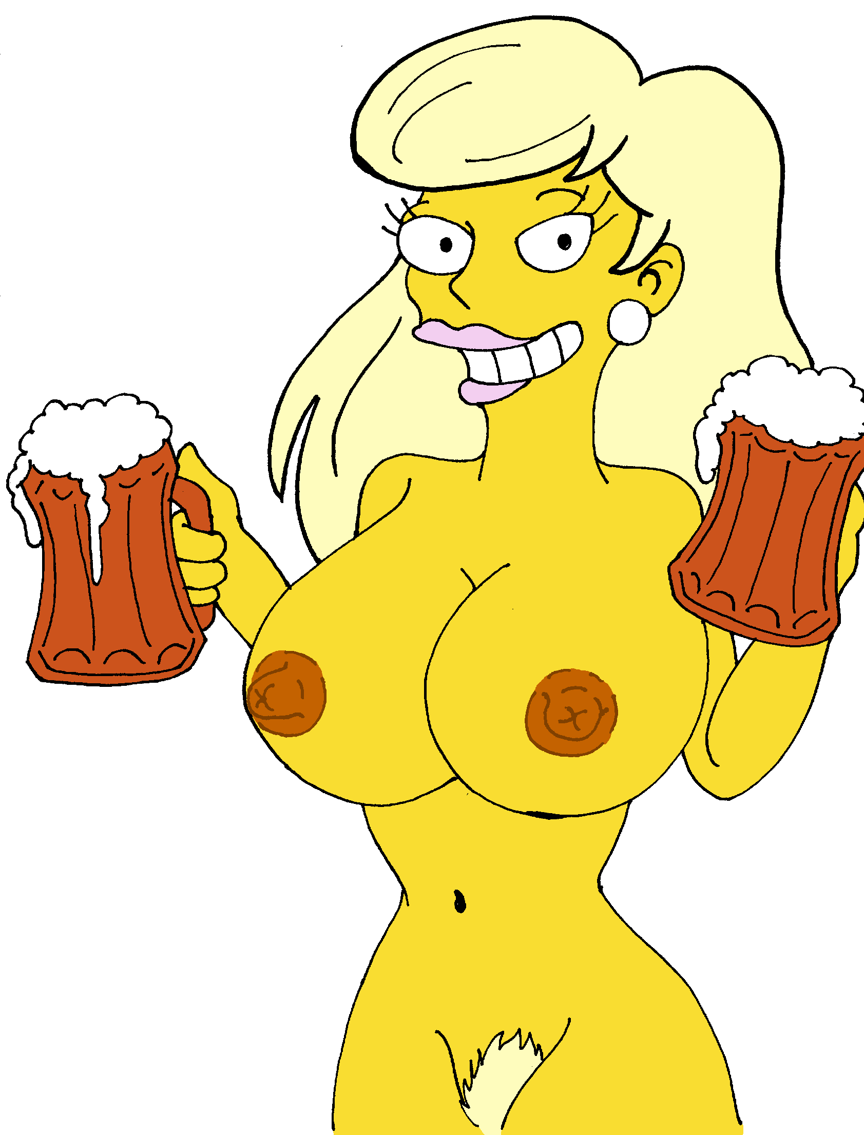 marge the naked simpsons from Natalie portman nipples star wars