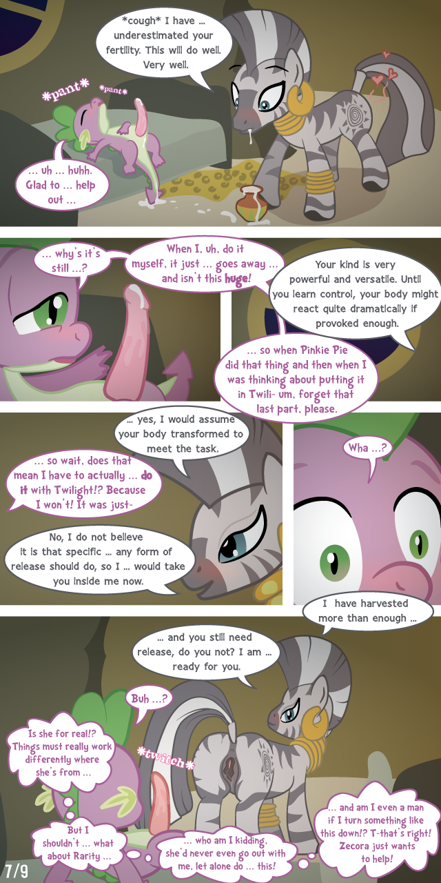 spike fanfiction rarity mlp and Baldi's basics in education and learning porn