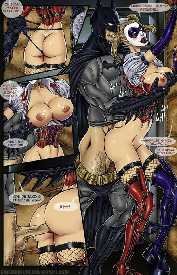 quinn comic and batman porn harley Shade trials in tainted space