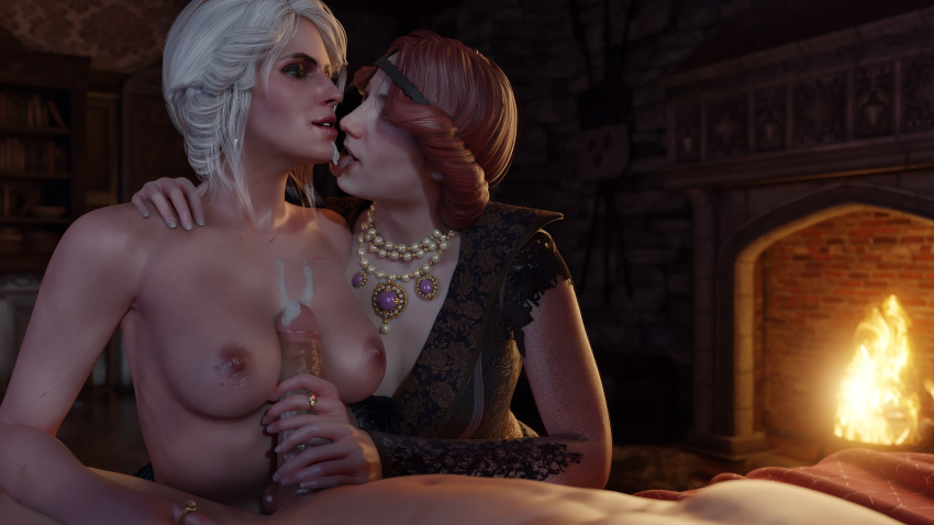 3 witcher the naked ciri Heavens lost property