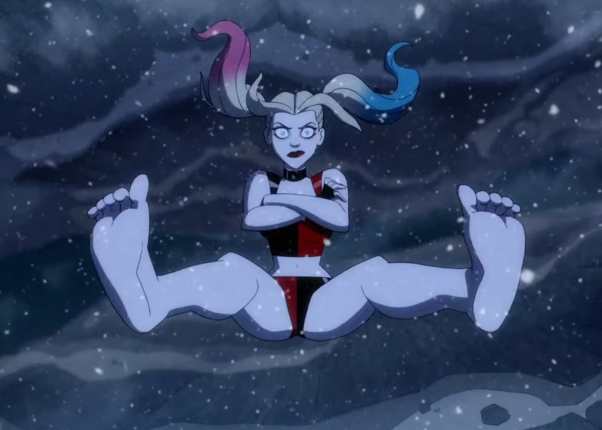 pics harley quinn naked of Rule number 34 of the internet website