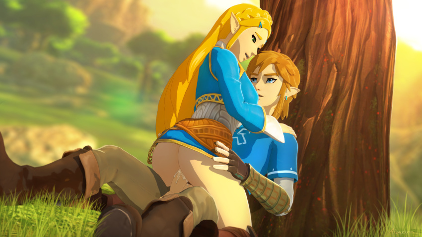 the breath link wild of hentai Naruto and daughter lemon fanfiction